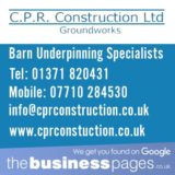 Groundwork & Drainage Essex - CPR Construction Ltd