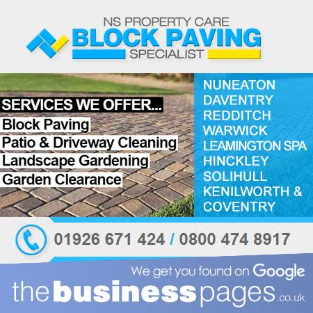 Block Paving Services Coventry