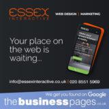 Essex Interactive Tel: 0208 551 5969 Website Design Upminster, SEO/Search Engine Optimisation, Graphic Design, Mobile Phone & Tablet Friendly Websites in Upminster.