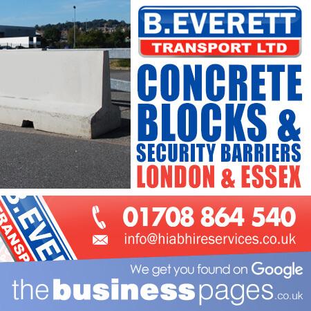 Concrete Security Barriers London