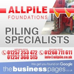 Pile Driving & Piling Lancashire
