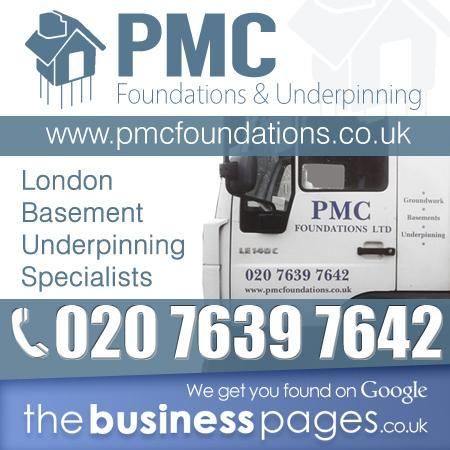 Basement Construction North London - PMC Foundations Ltd