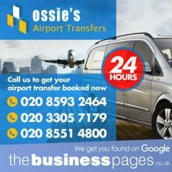 Cheapest Airport Taxis Ilford - Ossie\'s Airport Transfers