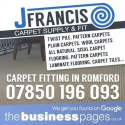 Carpet Fitters Romford - J Francis Carpets