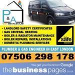 Boiler Replacement East London - P & A Gas Services Ltd