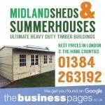Garden Summerhouses for Sale UK - Midland Sheds & Summerhouses