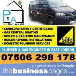 Landlord Gas Safety Certificates East London - P & A Gas Services Ltd