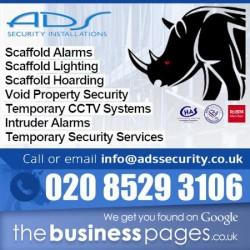 Scaffold Hoarding - ADS Security