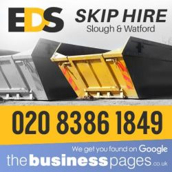 Cheap Skips in Harrow - EDS Skip Hire