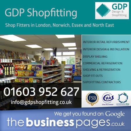 Shopfitters East London – GDP Design & Shopfitting