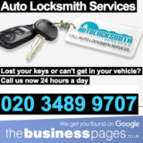 Auto Locksmiths Ilford - Auto Locksmith Services