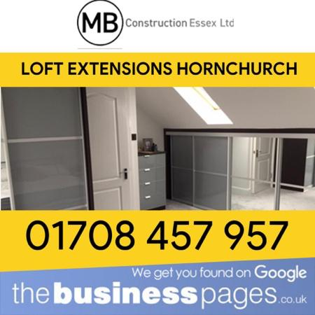 Loft Extensions Hornchurch, Elm Park, Emerson Park, Gidea Park, Upminster, Cranham, Rise Park, Harold Wood, Collier Row, Chadwell Heath, Romford, West Thurrock & Essex.