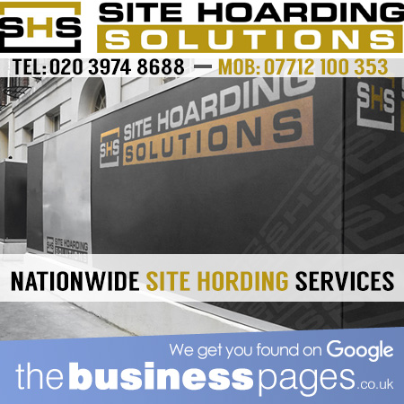Scaffold Hoarding London - Site Hoarding Solutions