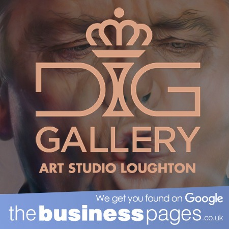 Art Studio Loughton - DIP It Gold Art Gallery
