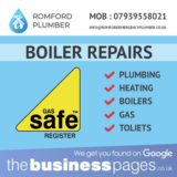 Looking for Boiler Repairs in Romford, Dagenham, Upminster, Collier Row, Elm Park, Hornchurch, Abridge, Harold Hill, Stapleford Abbotts, Gidea Park, Harold Wood or Essex?