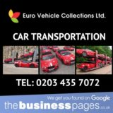 Euro Vehicle Collections Ltd Tel: 0203 435 7072 Ferrari Transportation in London, Essex, Kent, Surrey, Hertfordshire, Sussex, Berkshire, Cambridgeshire, Manchester, Birmingham, Liverpool, West Midlands & throughout the UK.