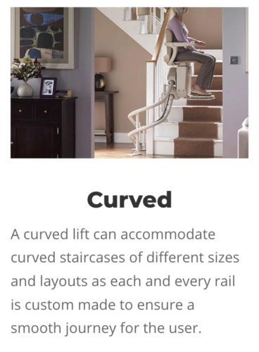 Curved Stairlifts in Romford