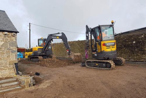 Groundwork Contractors in Newport & Wales