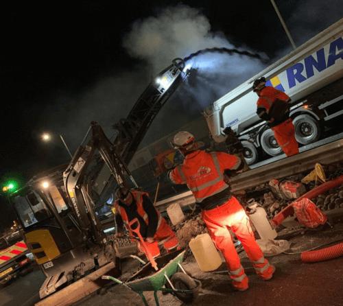 Multi Utility Mains Laying Newport & Cardiff