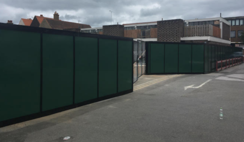 Site Hoarding in South West London