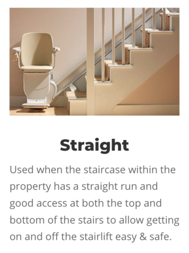 Straight Stairlifts in Romford