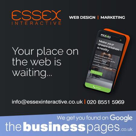 Essex Interactive Ltd Tel: 0208 551 5969 Website Design Bishop's Stortford, SEO/Search Engine Optimisation, Graphic Design, Mobile Phone & Tablet Friendly Websites in Bishop's Stortford.