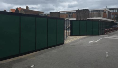 Site Hoarding in East London