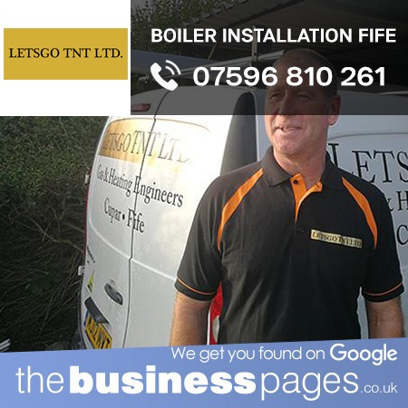 Boiler Installation in Fife including Kirkcaldy, Dunfermline, Glenrothes, St Andrews, Anstruther, Burntisland, Cowdenbeath, Cupar, Inverkeithing, Kelty, Leven, Lochgelly and Perth.