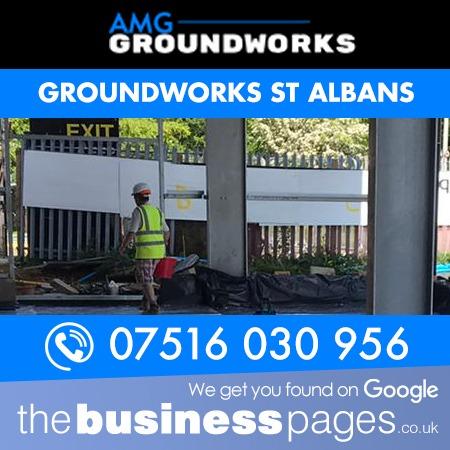 Groundworks St Albans - AMG Groundworks & Demolition