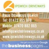 Resin Driveway in Ipswich, Bury St Edmunds, Aldeburgh, Brandon, Eye, Felixstowe, Halesworth, Leiston, Saxmundham, Southwold, Stowmarket or Woodbridge