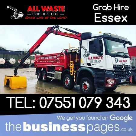 Grab Hire Southend - All Waste Skip Hire Ltd