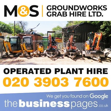 Operated Plant Hire in Wembley, Harrow, Ruislip, Eastcote, Pinner, Northwood, Stanmore, Edgware, Burnt Oak and Middlesex.