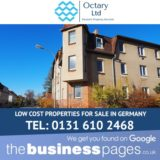 Low Cost Properties for Sale in Germany - Octary Ltd