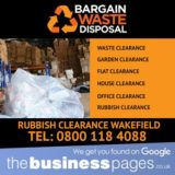 Rubbish Clearance Wakefield - Bargain Waste Disposal
