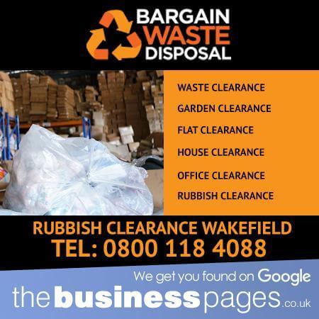 Rubbish Clearance Wakefield - Bargain Waste Disposal