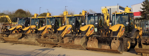 Operated Digger Hire East London