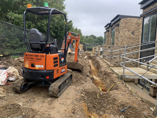 Operated Plant Hire North London