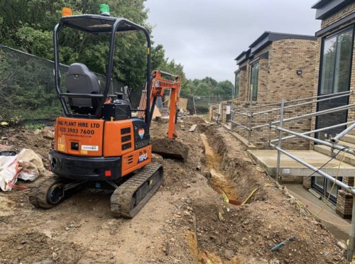 Operated Plant Hire West London